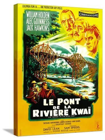 The Bridge on the River Kwai--Stretched Canvas Print