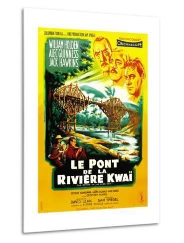The Bridge on the River Kwai--Metal Print