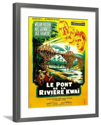 The Bridge on the River Kwai--Framed Art Print