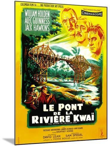 The Bridge on the River Kwai--Mounted Art Print