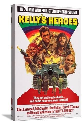 Kelly's Heroes--Stretched Canvas Print