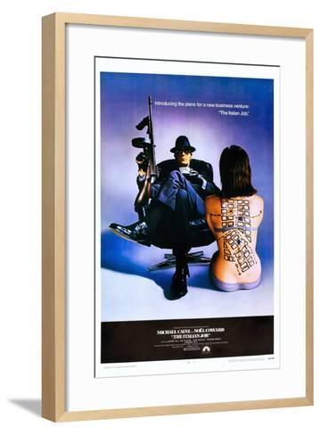 The Italian Job--Framed Art Print