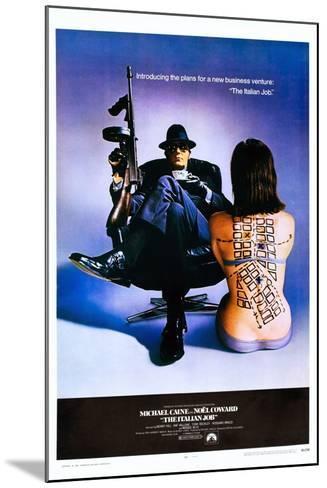 The Italian Job--Mounted Art Print