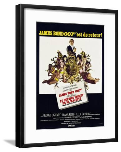 On Her Majesty's Secret Service--Framed Art Print