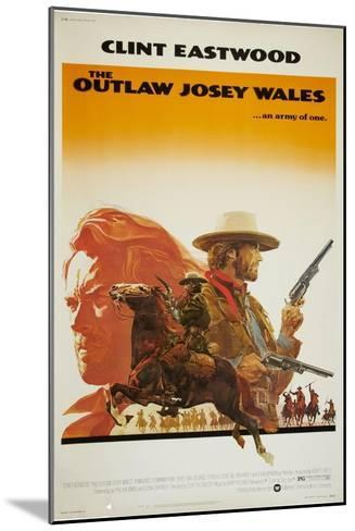The Outlaw Josey Wales--Mounted Art Print