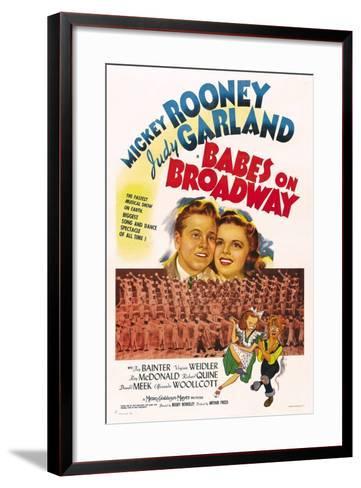 Babes on Broadway--Framed Art Print