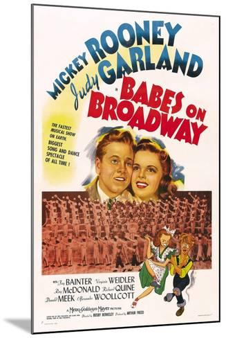 Babes on Broadway--Mounted Art Print