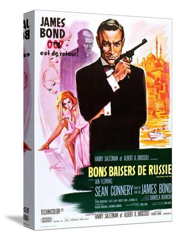 From Russia with Love (aka Bons Baisers De Russie)--Stretched Canvas Print