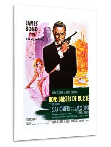 From Russia with Love (aka Bons Baisers De Russie)--Metal Print