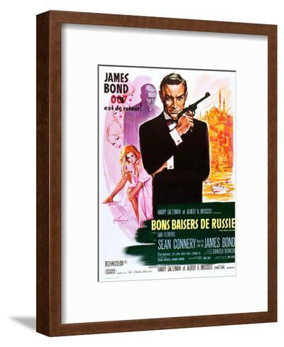 From Russia with Love (aka Bons Baisers De Russie)--Framed Art Print