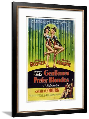 Gentlemen Prefer Blondes, 1953--Framed Art Print