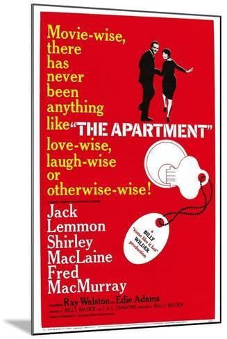 The Apartment--Mounted Art Print