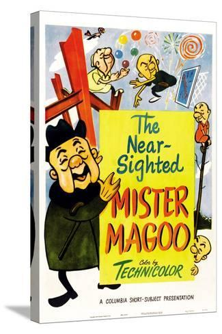 The Nearsighted Mister Magoo--Stretched Canvas Print