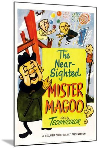 The Nearsighted Mister Magoo--Mounted Art Print