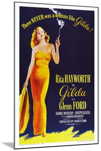 Gilda, 1946--Mounted Art Print