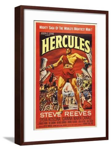 Hercules--Framed Art Print