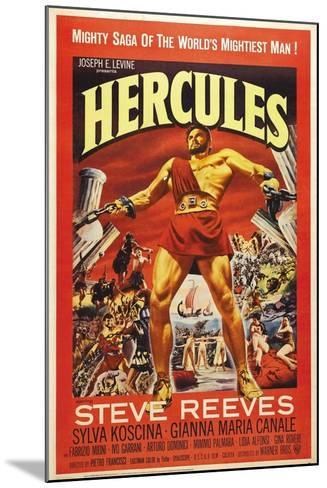 Hercules--Mounted Art Print