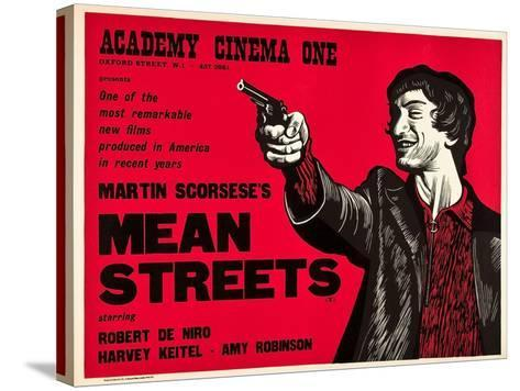 Mean Streets--Stretched Canvas Print