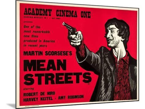 Mean Streets--Mounted Art Print