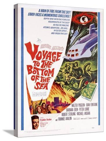 Voyage to the Bottom of the Sea--Stretched Canvas Print