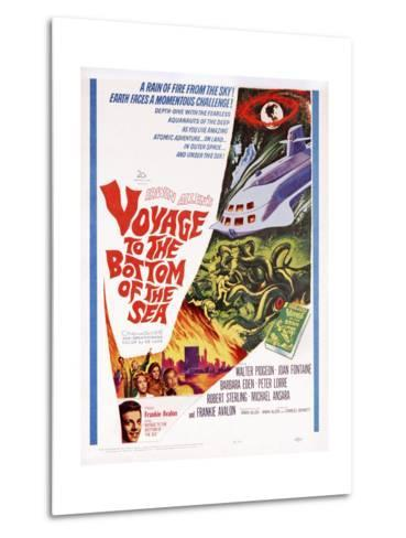 Voyage to the Bottom of the Sea--Metal Print