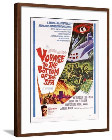 Voyage to the Bottom of the Sea--Framed Art Print