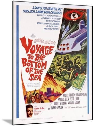 Voyage to the Bottom of the Sea--Mounted Art Print