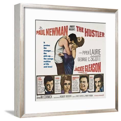 The Hustler--Framed Art Print