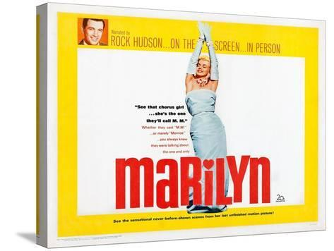 Marilyn--Stretched Canvas Print