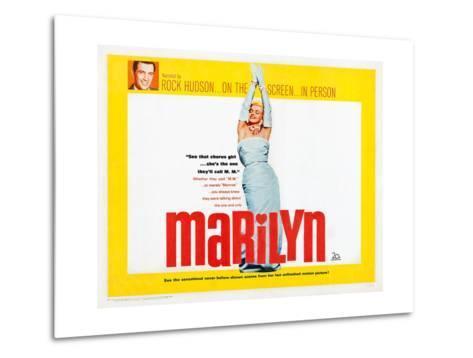Marilyn--Metal Print