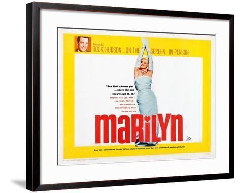 Marilyn--Framed Art Print