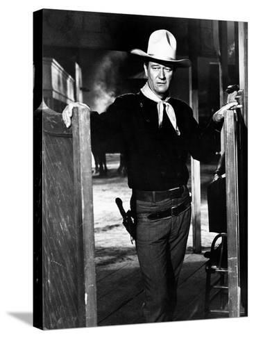 The Man Who Shot Liberty Valance--Stretched Canvas Print