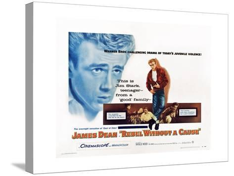 Rebel Without a Cause--Stretched Canvas Print