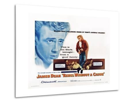 Rebel Without a Cause--Metal Print