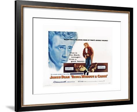 Rebel Without a Cause--Framed Art Print