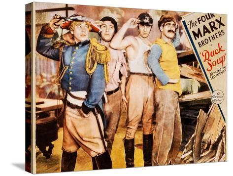Duck Soup--Stretched Canvas Print