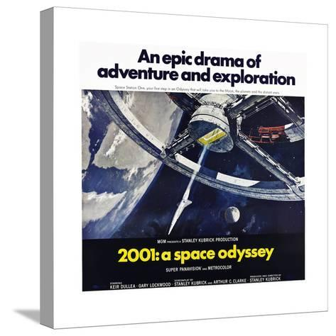 2001: A Space Odyssey--Stretched Canvas Print