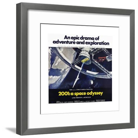 2001: A Space Odyssey--Framed Art Print
