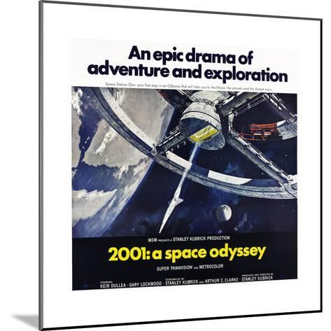 2001: A Space Odyssey--Mounted Art Print