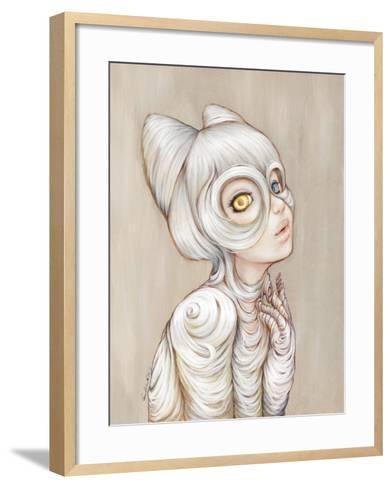 Hairball-Camilla D'Errico-Framed Art Print