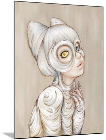 Hairball-Camilla D'Errico-Mounted Art Print
