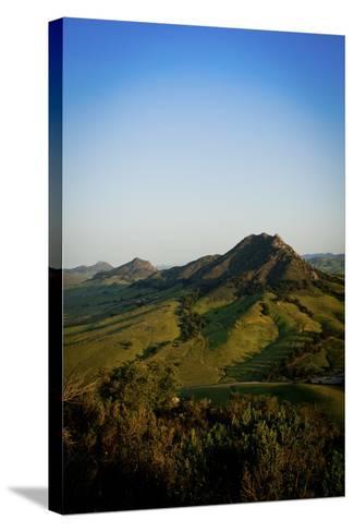 A Sunrise Hike Up Maddona Mountain with Beautiful Views of San Luis Obispo, California-Daniel Kuras-Stretched Canvas Print