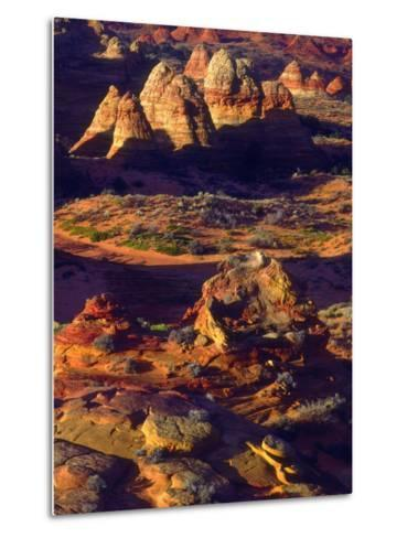 USA, Arizona, Sandstone Formations in the Paria Canyon-Jaynes Gallery-Metal Print