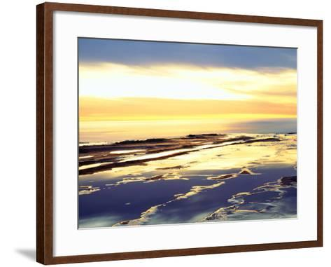 USA, California, San Diego. Sunset Cliffs Tide Pools at Sunset-Jaynes Gallery-Framed Art Print