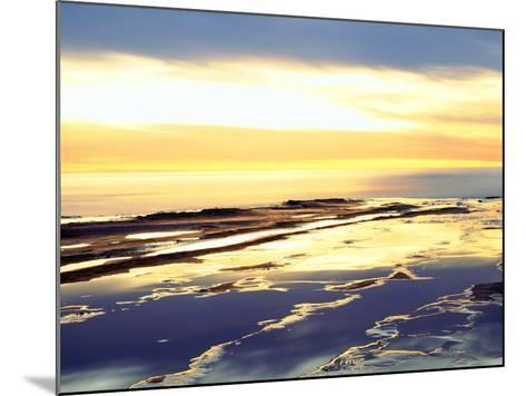 USA, California, San Diego. Sunset Cliffs Tide Pools at Sunset-Jaynes Gallery-Mounted Photographic Print