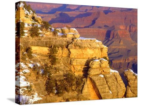 USA, Arizona, Grand Canyon National Park in Winter-Jaynes Gallery-Stretched Canvas Print