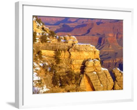 USA, Arizona, Grand Canyon National Park in Winter-Jaynes Gallery-Framed Art Print