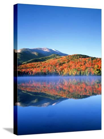 USA, New York, Adirondack Mountains. Algonquin Peak and Heart Lake-Jaynes Gallery-Stretched Canvas Print