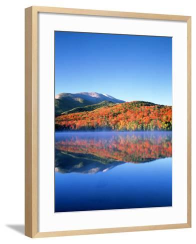 USA, New York, Adirondack Mountains. Algonquin Peak and Heart Lake-Jaynes Gallery-Framed Art Print