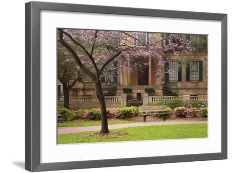 USA, Georgia, Savannah, Historic Owens Thomas House in the Spring-Joanne Wells-Framed Art Print
